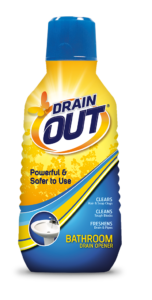 Drain OUT Bathroom Drain Opener & Cleaner Package Front; 16 fl oz; SKU DOB01B