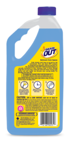 Drain OUT Bathroom Drain Opener & Cleaner Package Back; 32 fl oz; SKU DOB32B