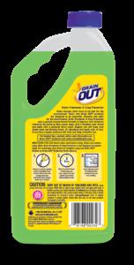 Drain OUT Drain Freshener & Clog Preventer Package Back; 32 fl oz; SKU DOF32B