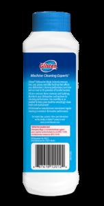 Glisten Dishwasher Magic - Dishwasher Cleaner Package Back; SKU DM01B