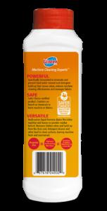 Glisten Washer Magic - Washing Machine Cleaner Package Side; SKU WM01B