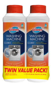 Glisten Washer Magic - Washing Machine Cleaner Package Front; Twin Pack; SKU WM02S