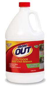 Iron OUT Outdoor Rust Stain Remover for Concrete & Vinyl Siding Package Front; SKU LI05B