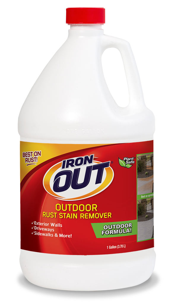 Concrete Stain Remover >> Iron Out Outdoor Rust Stain Remover