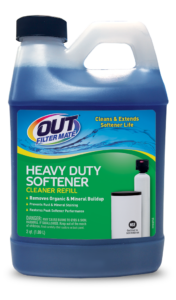 OUT Filter Mate Heavy Duty Water Softener Cleaner Package Front; SKU HD01B