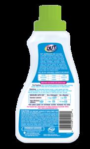 OUT ProWash Workwear Odor Eliminator Detergent Clothes Deodorizer Package Back; SKU OE01B