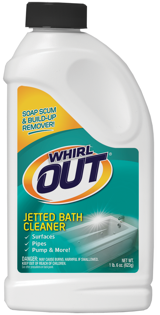 Whirl OUT® Jetted Bath Cleaner | Summit Brands