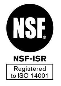 NSF ISO 14001 Registration icon