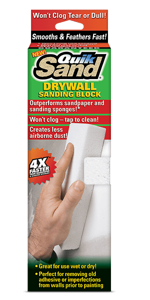 QuikSand Drywall Sanding Block