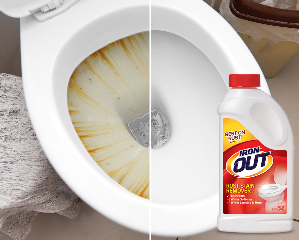 using Iron Out for toilet